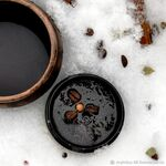 Калуа, кофейно-солевой скраб для тела, 120 г
